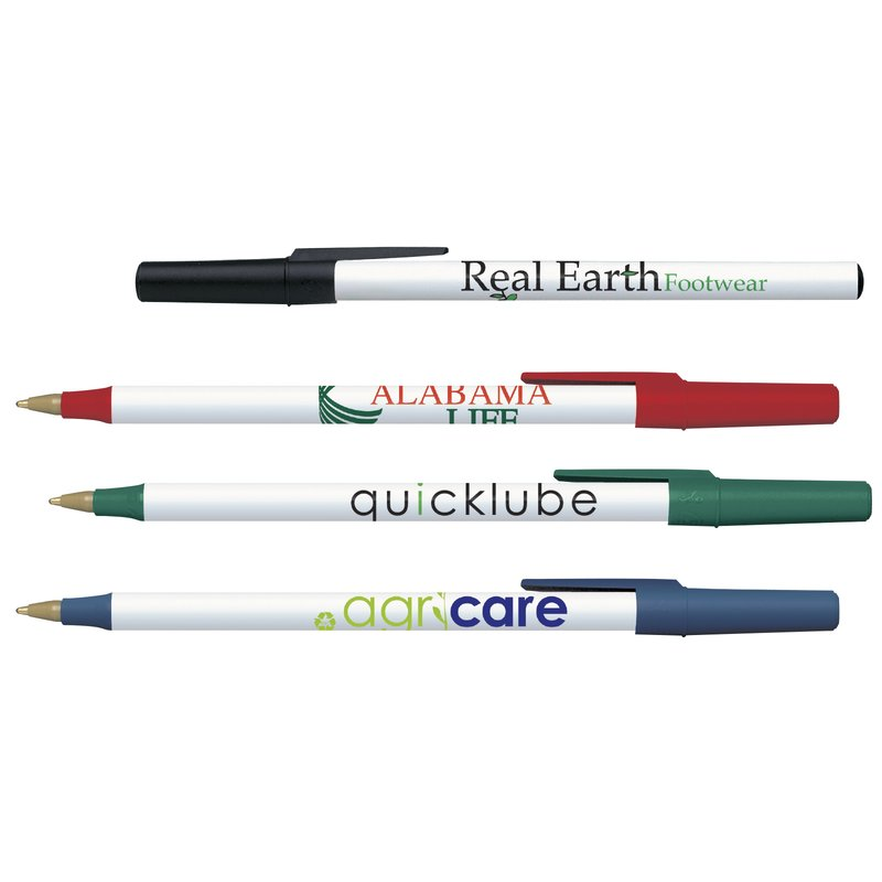 Main Product Image for Custom Imprinted Pen - BIC Ecolutions Round Stic Pen